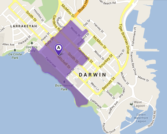 NBN Fibre Area 8DRW-01 activated on June 4, 2013